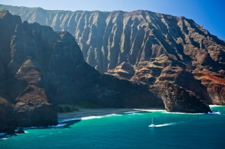 Napali Küste auf Kauai, Hawaii ©HTA by Tor Johnson