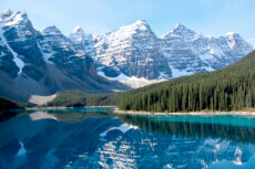 Ein Foto mit dem Titel: Banff Nationalpark, Moraine Lake ©Travel Alberta