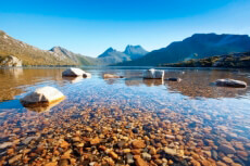 Ein Foto mit dem Titel: Cradle Mountain Nationalpark